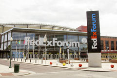Fedex forum, Memphis, TN Royaltyfri Fotografi