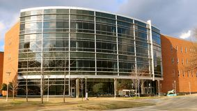 FedEx Institute of Technology Building at The University of Memphis Stock Images