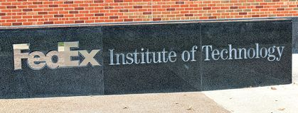 FedEx Institute of Technology at The University of Memphis Royalty Free Stock Image