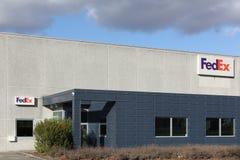 FedEx logistic center Stock Image