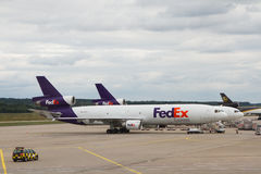 Fedex McDonnell Douglas DC-10 airplane Royalty Free Stock Image
