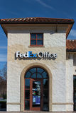 FedEx Office Building. Royalty Free Stock Photo