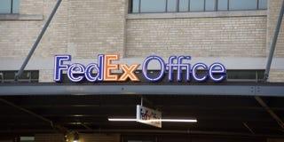 FedEx Office Business Center stock photos