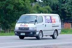 Fedex skåpbil Arkivbilder