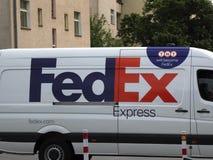 FedEx TNT delivery van royalty free stock photo
