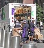 FedEx Workers  Stock Photos