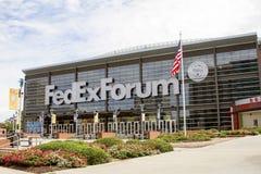 孟菲斯灰熊FedExForum 免版税库存图片