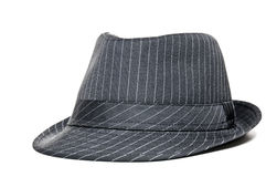 Fedora. Year 1950 circa mens fedora style hat royalty free stock photos