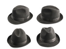 Fedora hat Royalty Free Stock Images