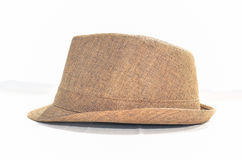 Fedora hat brown Royalty Free Stock Photo