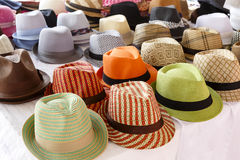 Fedora Hat Display Stock Image
