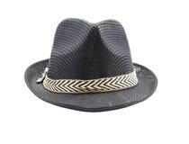 Fedora hat isolated on white background Royalty Free Stock Photography