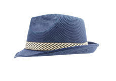 Fedora hat isolated on white background Royalty Free Stock Photography