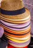 Fedora Hats stock afbeelding