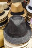 Fedora Hats Stock Image