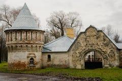 Fedorov-Tempel Herbst Russland, die Stadt von Pushkin, Tsarskoe Selo Lizenzfreies Stockfoto