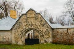Fedorov-Tempel Herbst Russland, die Stadt von Pushkin, Tsarskoe Selo Lizenzfreie Stockfotos