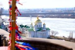 Fedorovsky-Damm lizenzfreies stockfoto