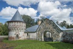 Fedorovsky miasteczko Tsarskoye Selo Zdjęcia Stock
