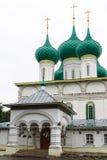 Fedorovskykathedraal in Yaroslavl, Rusland Royalty-vrije Stock Fotografie