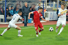 Fedotov is getting the ball Stock Image