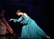 """Fedrunek w cesarskim """"One Tysiąc i Jeden Nights†władzy baletniczym  Obrazy Royalty Free"""