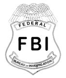 Feds Badge Royalty Free Stock Image