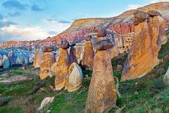 Fee bringt Steinklippen unter stockfotos