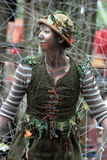 Fee an der Renaissance Faire Stockfotos