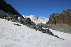 Fee Glacier Royalty Free Stock Photography