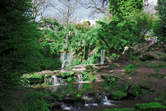 Fee Glen Sefton Park Liverpool Großbritannien Stockfotos