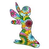 Fee kleurrijk voor kinderen vector illustratie