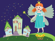 Fee oder Prinzessin Lizenzfreies Stockbild