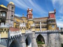Fee-verhaal het paleis van Sintra royalty-vrije stock foto