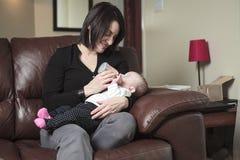 Feed baby Royalty Free Stock Photo