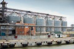 Feed Mill Stock Photo