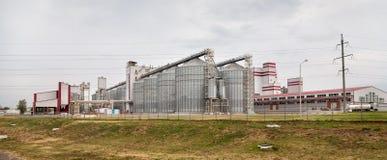 Feed Mill of Prokhorovka. Russia Royalty Free Stock Image