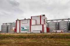 Feed Mill of Prokhorovka. Russia Stock Images