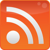Feed RSS Fotografia de Stock Royalty Free