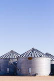 Feed silos Royalty Free Stock Images