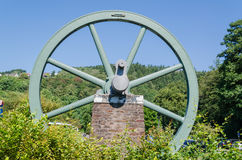 Feed wheel, winding tower, Royalty Free Stock Image