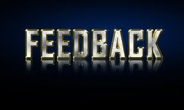 feedback Photographie stock