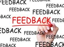 feedback stockfotografie