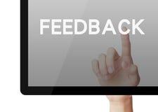 feedback Fotografia de Stock Royalty Free