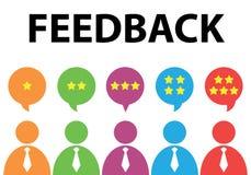 feedback illustration de vecteur
