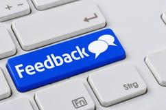 feedback Photographie stock