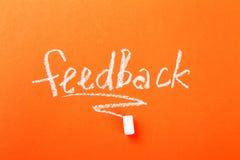 feedback stockbilder