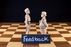 feedback Lizenzfreie Stockbilder