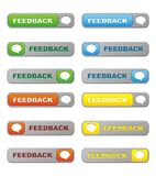 Feedback Buttons Royalty Free Stock Photo