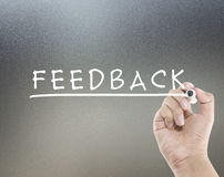 Feedback concept Royalty Free Stock Photography